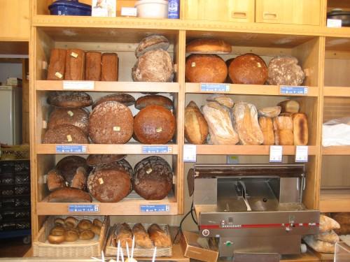 Brödhyllan hos Hofpfisterei