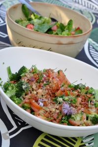 Broccolisallad med bacon
