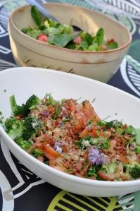 Broccolisallad med bacon