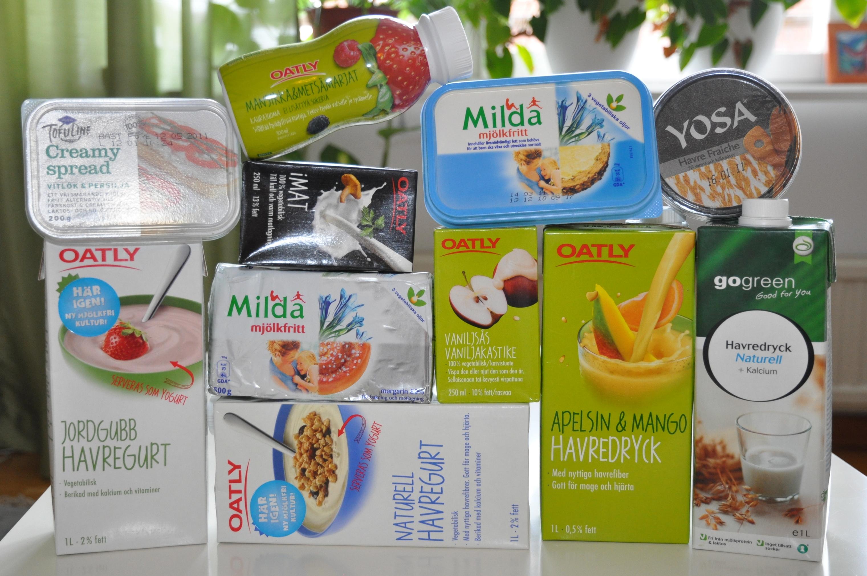 Godis utan mjölkprotein