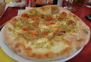 Pistagepizza