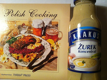 Zurekbas och liten polsk kokbok