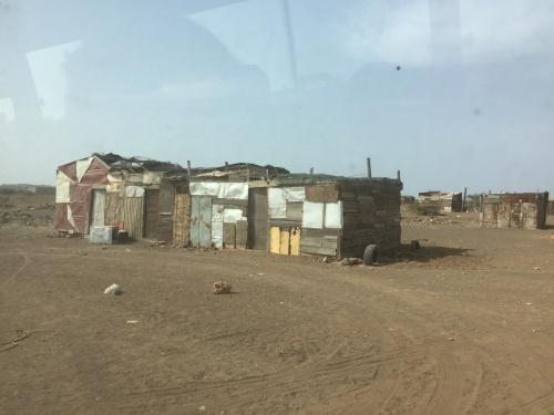 Favelor - här bor de fattiga i skjul byggda av det de hittar.