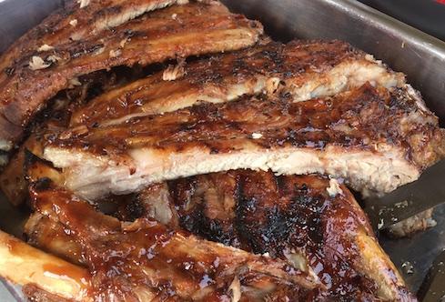 Sticky ribs
